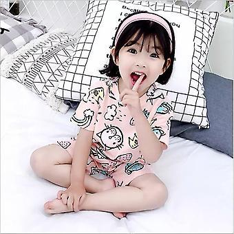 Kesä Lasten pyjamasetti, Lyhythihaiset univaatteet