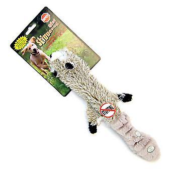 """Spot Skinneeez plysch raccoon hundleksak - 20"""" lång"""