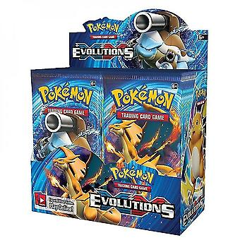 100/360pcs/box Kaarten Sun & Moon Lost Thunder Engels Trading Card Game Evolutions Booster Box Collectible