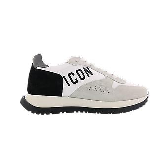 Dsquared2 Pitsi-Up Low Top Sneake Valkoinen SNM02121601682M2214 kenkä