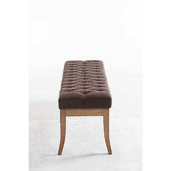 Chaise de bureau - Chaise de bureau - Bureau à domicile - Moderne - Marron - Bois - 100 cm x 38 cm x 46 cm
