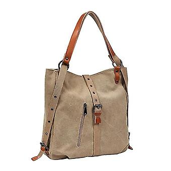 Canvas Handväskor Damer Handväskor Casual Shoulder Bags|soulder Väskor (svart)