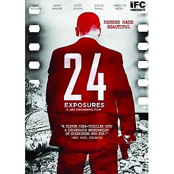 24 exponeringar [DVD] USA import
