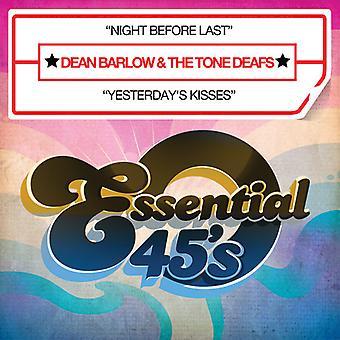 Dean Barlow & de toon doven - nacht voordat laatste [CD] USA import