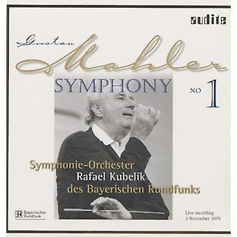 Mahler/Kubelik/Bavarian Radio Sym Orch - Sym 1 [Vinyl] USA import