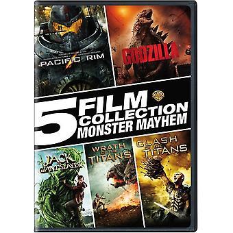 5 coleção de filme: Monster Mayhem [DVD] USA importação