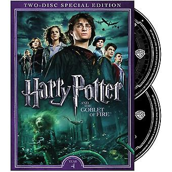 Harry Potter & Ildbegeret [DVD] USA importere