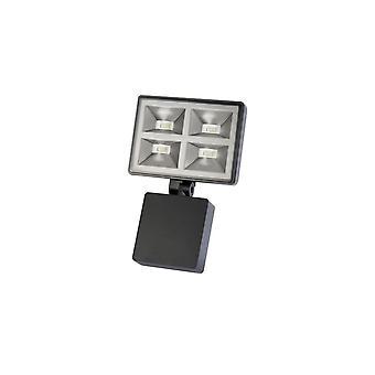 Timeguard Powerful 4x8W LED Energy Saver Floodlight, Black