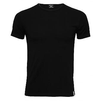 Replay Classic Stretch Cotton Crew-Neck T-Shirt, Black