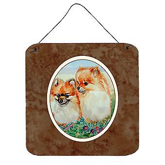 Carolines Treasures  7262DS66 Pomeranian Wall or Door Hanging Prints