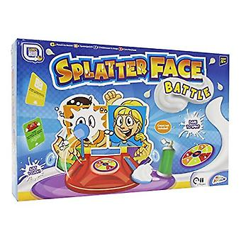 Splatter Gesicht Schlacht