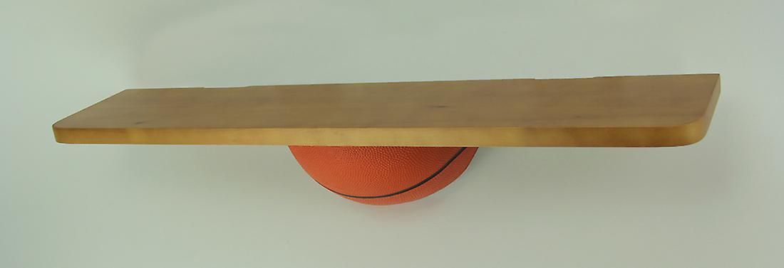 18 pouces sport en bois Long de mur étagère - Basketball