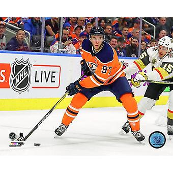 Connor McDavid 2017-18 toiminta Photo Print