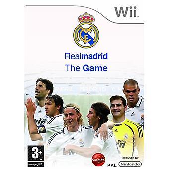 Real Madrid-het spel (Wii)-nieuw