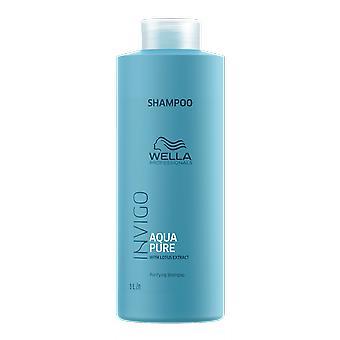 Wella Invigo Aqua Pure Purifying Shampoo 1000ml