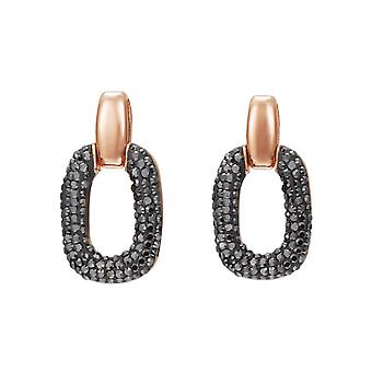 Joop women's earrings stainless steel Rosé OVALLY JPER10019C000