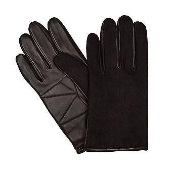 LLOYD męskie rękawice rękawice rozmiar antyczne 6448 brązowy kożuch