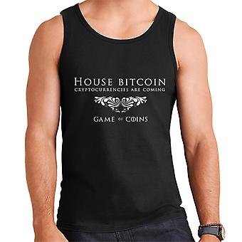 Hus Bitcoin Game Of Thrones Mix mænds Vest