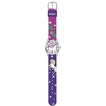 Scout gyerekek Nézd learning Watch Classic-Egyszarvú lány 280309005