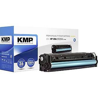 KMP H-T146 tonerpatron erstattede HP 128A, CE323A magenta 1300 sider kompatibel tonerpatron