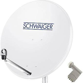 Schwaiger SPI9960SET9 SAT system w/o receiver No. of participants: 4 80 cm
