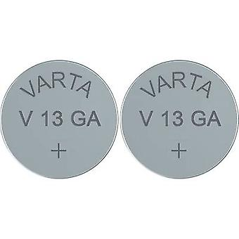Varta Electronics AG13 Button cell LR44 Alkali-manganese 155 mAh 1.5 V 2 pc(s)