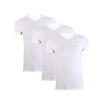 Diesel Umtee Jake Vneck 3PACK 00SPDM0AALW100 universal all year men t-shirt
