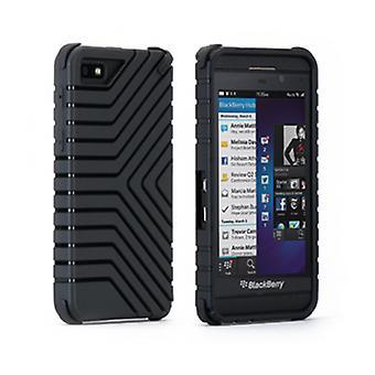 Puregear Griptek Case for Blackberry Z 10 (Black) - 60104PG