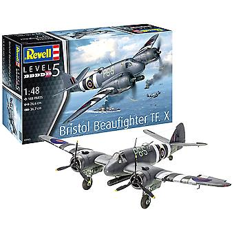Revell 3943 Bristol Beaufighter TF. X- Escala 1:48 Kit modelo plástico