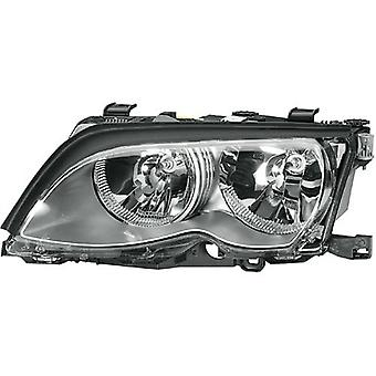 HELLA 354204171 BMW 3 Series E46 Driver Side Replacement Headlight Assembly