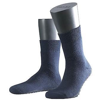 Falke Homepads Midcalf Socken - Marine Blau