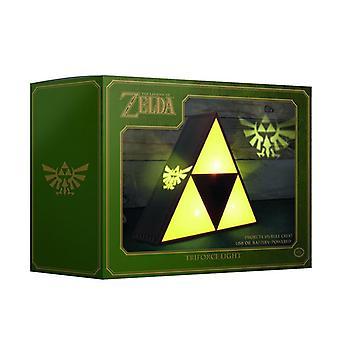 La leggenda di Zelda Tri-forza luce multicolore Dual alimentato da batteria o USB