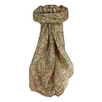 Mulberry Silk Traditional Square Scarf Eyer Blush by Pashmina & Silk