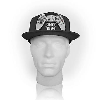 SONY PlayStation One Snapback siden 1994 Controller Baseball Cap mørkegrå (SB128830SNY)