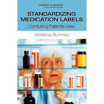 Normalisation des médicaments étiquettes - confusion entre Patients moins - atelier S