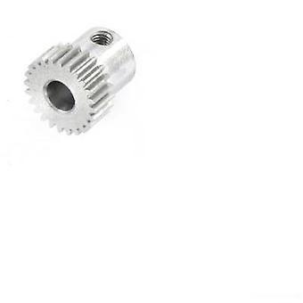 Motor pinion Reely modultyp: 0,5 Bore diameter: 5 mm nr. tänder: 24