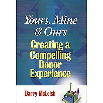 Yours, Mine and Ours: creëren van een dwingende ervaring van de Donor