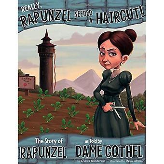 Rapunzel brauchte einen neuen Haarschnitt!
