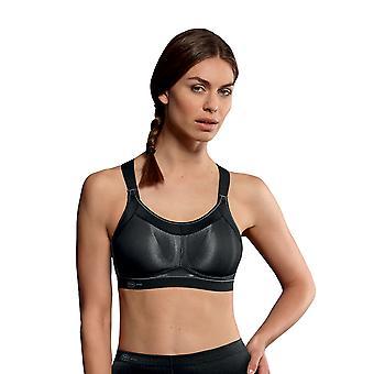 Anita 5539-001 Damen Schwarz tatkräftig High Impact Sport-BH