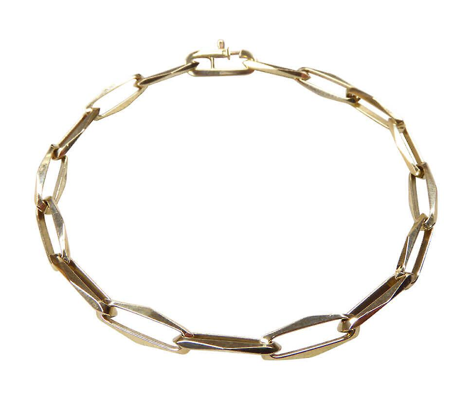 Geel gouden closed forever armband