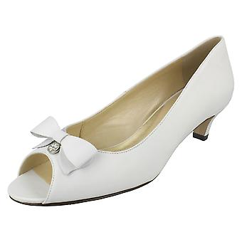 Ladies Van Dal Low Heeled Peep Toe Shoes Belton