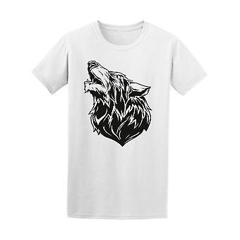 Amazing Wolf Head Tee Men's -Image by Shutterstock
