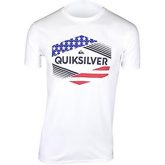 Quiksilver Mens Stars & Stripes 2.0 T-Shirt - White