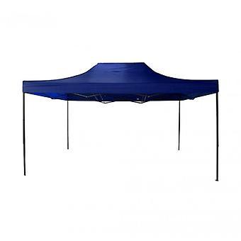 Möbel Rebecca Gazebo A Accordion Blue Metal Polyester Case 3x4.5