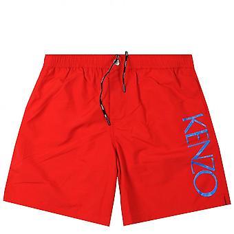 肯佐侧标志游泳短裤
