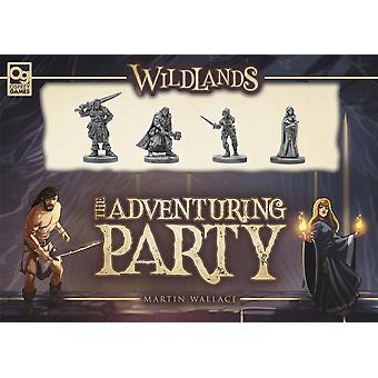 Wildlands le jeu de carte de fête d'aventure