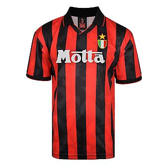 Score Draw AC Milan 1994 Retro Football Shirt