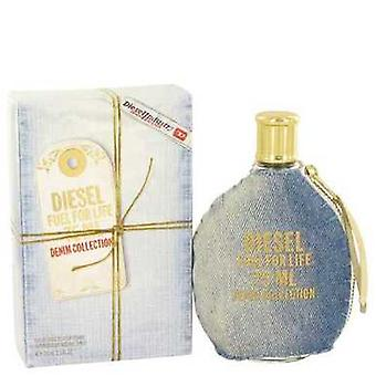 Fuel For Life Denim By Diesel Eau De Toilette Spray 2.5 Oz (women) V728-489506