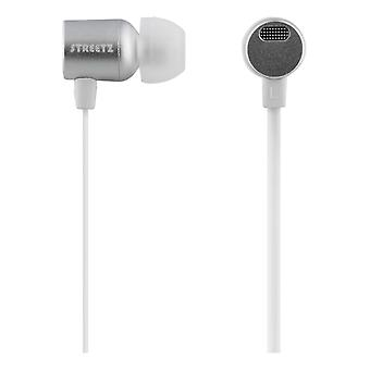 STREETZ in-ear headset, microphone and volume control