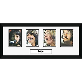Beatles Storyboard indrammet Collector Print 75x30cm